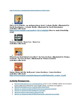 Buliding Social Emotional Literacy through Books and Activities