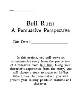Bull Run: A Persuasive Essay