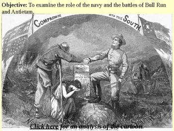 Bull Run, Antietam and the War at Sea PowerPoint Presentation