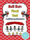 Bull Run Final Test - **2 versions for differentiation**