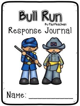 Bull Run by Paul Fleischman Literacy Unit with STEM - Civil War