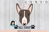Bull Terrier svg, png, eps, jpeg, dxf