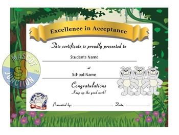 Bulldog Award Certificates -Behavior