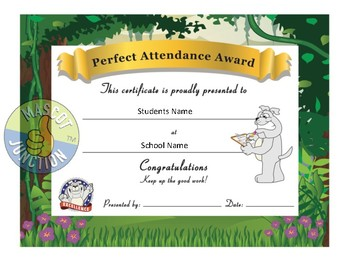 Bulldog Award Certificates -Standard