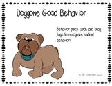 Bulldog Brag Tags and  Behavior Punchcards