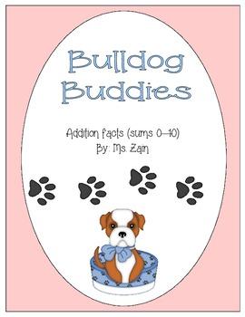 Bulldog Buddies Addition Facts