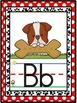 Bulldog Mascot Alphabet Line Classroom Decor