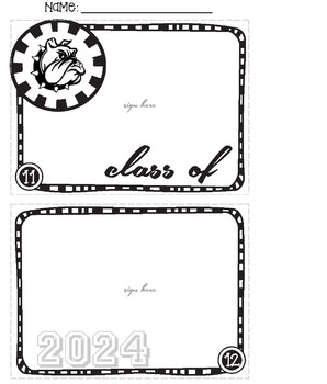 Bulldog Mascot Memory Book