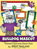 Bulldog Mascot Themed Classroom Decor Pack