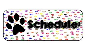 Bulldog Theme: Schedule and Focus Wall