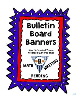 Bulletin Board Banners-Sports Theme