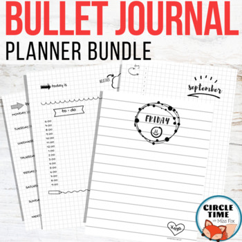 Bullet Journal Bundle!