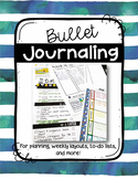 Bullet Journal (For Teachers)