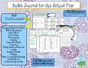 Bullet Journal For the School Year