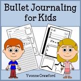 Bullet Journal Inspired Journaling for Kids