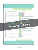 Bullet Journal-Inspired Lesson Tracker