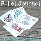 Bullet Journal Monthly Mood Trackers