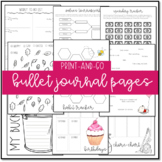 Bullet Journal Pages (Adorable Organization Tools!)
