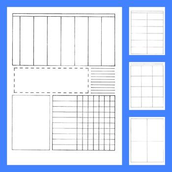 Bullet Journal Style Homeschool Lesson Plan Pack