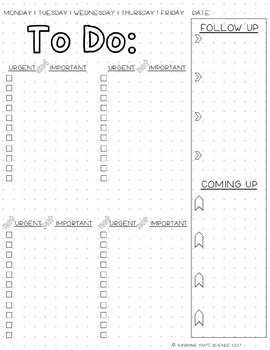 picture relating to Bullet Journal Printable called Bullet Magazine In direction of DO Record Printable