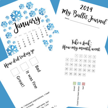 Bullet Journaling for Younger Students (PDF)