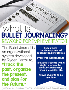 Bullet Journaling for the Classroom