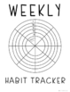 Creative Reflection Journal: Habit Trackers