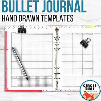 Hand Drawn Bullet Journal Template