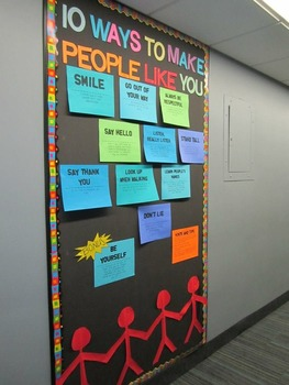 Bulletin Board - 10 Ways to Make People Like You
