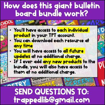 Bulletin Board Activity Kits:  The Ultimate BUNDLE