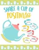 Bulletin Board Activity - Share a Cup of Positivitea