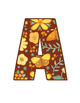 Bulletin Board Alphabet - Autumn Tapestry