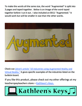 "Bulletin Board - ""Augmented Reality Is More Than a Game!"""