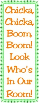 "Bulletin Board Banner: ""Chicka, Chicka, Boom, Boom!"""