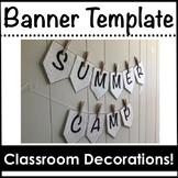 Bulletin Board Banner Template