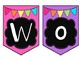 Customize Your Own Bulletin Board Banners~Bright Colors(Pink,Purple,Green&Blue)