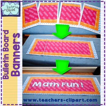 Bulletin Board Banners / Clasroom display titles {EDITABLE}