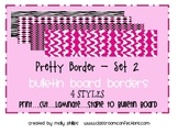 Bulletin Board Border - Pretty Border Set 2