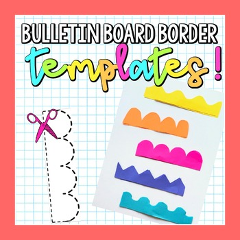 image regarding Free Printable Bulletin Board Borders Template referred to as Bulletin Board Border Template Offer!