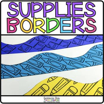 Bulletin Board Borders - Supplies