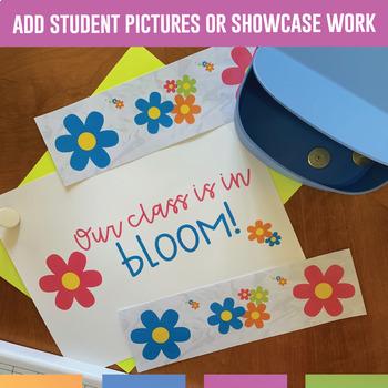 Bulletin Board Borders Flowers - 5 Types