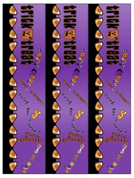 Bulletin Board Borders - Halloween Set 1