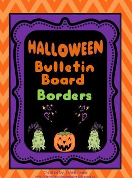 Bulletin Board Borders - Halloween Set 2