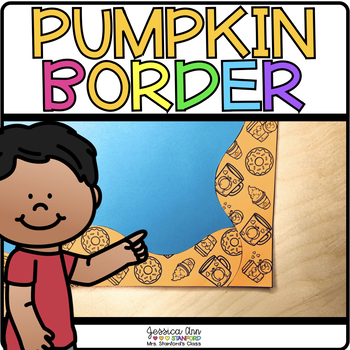 Bulletin Board Borders - Pumpkin Spice