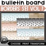 Bulletin Board Borders ll Volume 7 Ombre Polka Dot