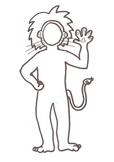 Bulletin Board Buddies - Lion Suit