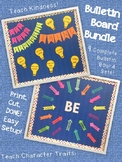 Bulletin Board Bundle--Character Traits and Growth Mindset