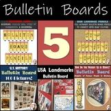 Bulletin Board Bundle: Social Studies Bulletin Boards