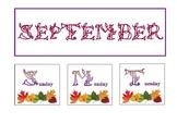 12 Month Bulletin Board Calendar