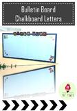 Bulletin Board Chalkboard Letters